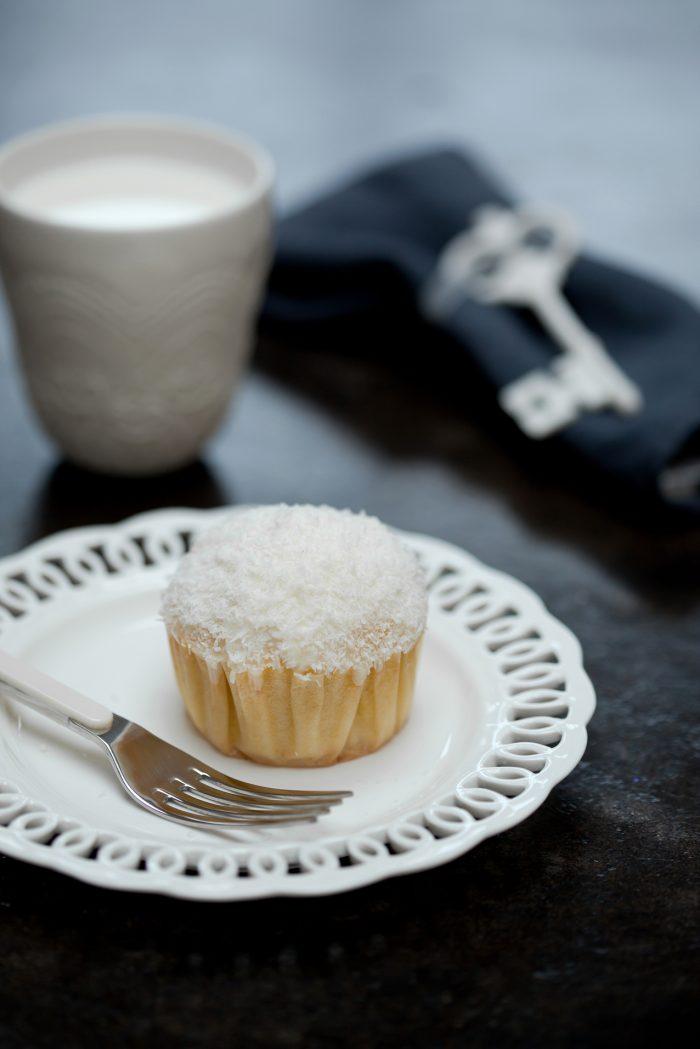 Juliette Lalbaltry - Cupcake à la noix de coco - Crédit photo: Emanuela Cino