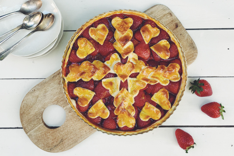 DIY - Personnaliser sa tarte aux fraises - Darty & Vous - Crédits photo: Juliette Lalbaltry